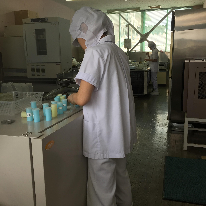 木次乳業 牛乳工場