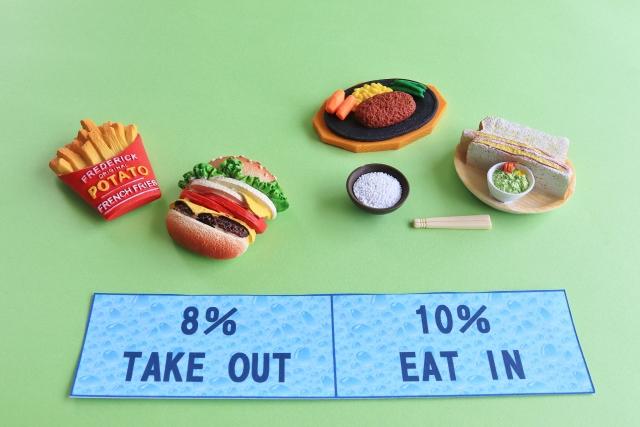 軽減税率 8% フレンチトースト
