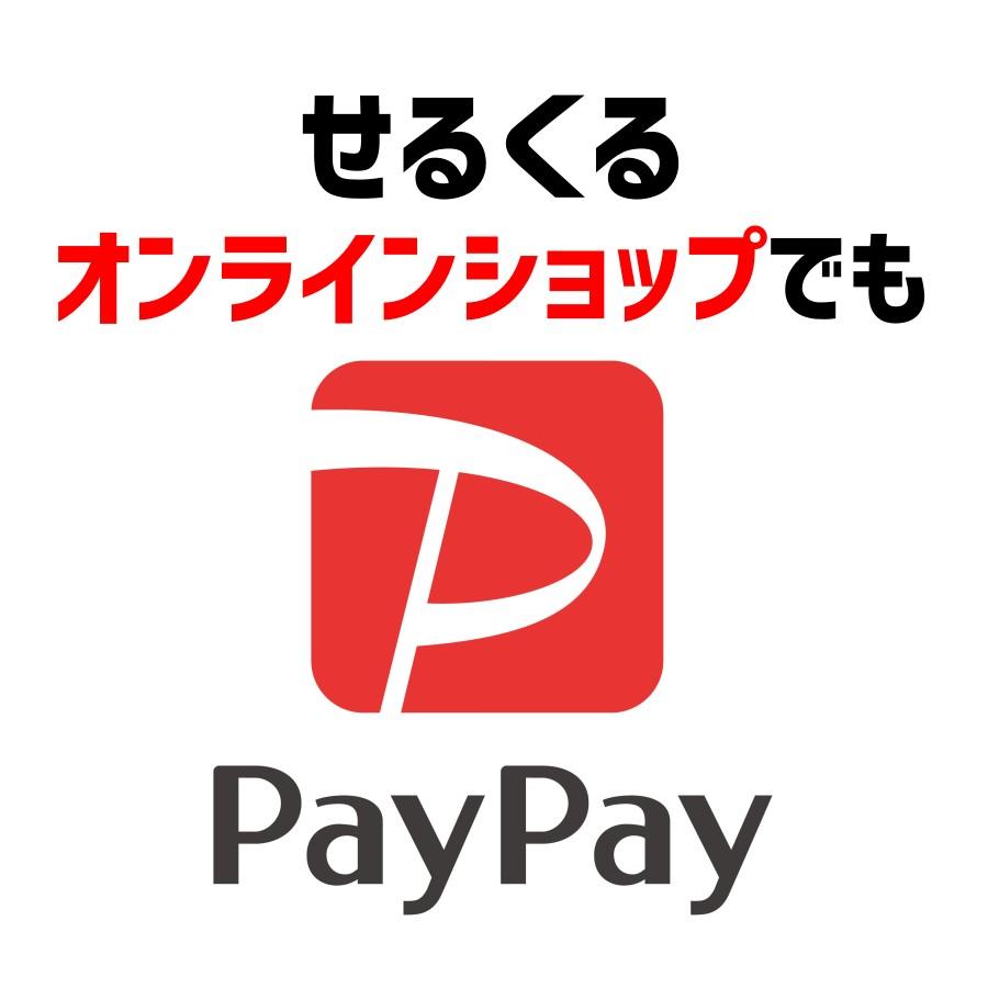 PayPayオンライン決済ご利用いただけます